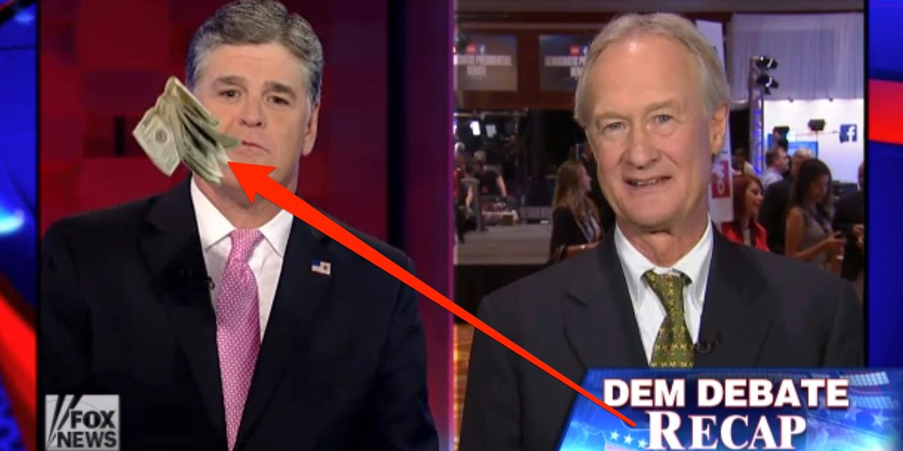 Sean Hannity Ended An Awkward Interview With A Democratic Candidate