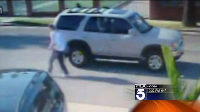 LAPD Releases Dramatic Video of Bicyclist Being Shot