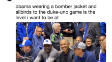 The $95 Sneakers Barack Obama Wore to the Duke-UNC Game