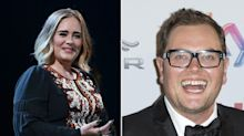 Alan Carr revealed he got married in Adele's back garden - and she ordained