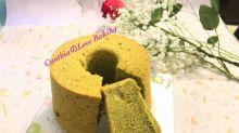 抹茶香蕉戚風蛋糕