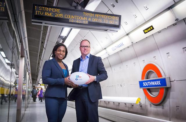 Live Rugby World Cup scores are coming to London's Tube