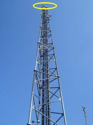 Jesus appears atop cellphone tower in Uganda