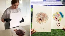 Woman makes $15,000 a year selling placenta smoothies and keepsakes