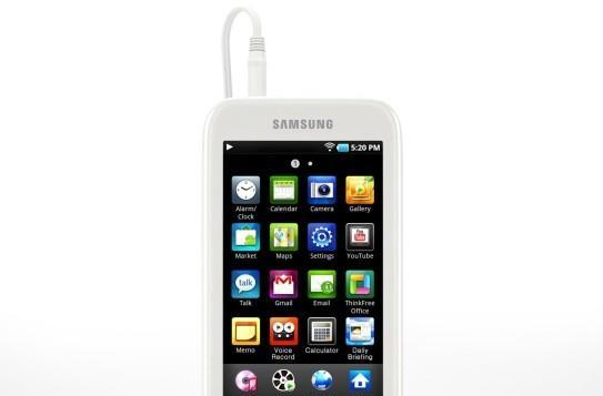 Samsung Galaxy Player up for pre-order at Amazon UK, £150 buys 8GB worth of Android Market apps