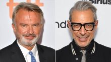 Sam Neill Says Jeff Goldblum Drove Everyone 'Crazy' on Jurassic World 3 Set with Daily Suggestions