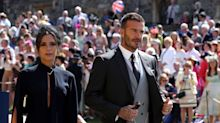 David and Victoria Beckham donate royal wedding outfits to We Love Manchester charity fund