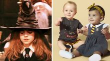 Get your child Hogwarts-ready with this adorable Harry Potter baby range