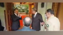 FM Wang Yi greeted members of Pakistan Foreign Minister's delegation in China with 'Namaste'