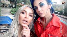 Kim Kardashian is showing off bling again, post-Paris robbery
