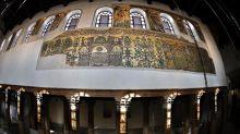 Bethlehem church mosaics sparkle in time for Christmas