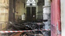 Cathédrale de Nantes incendiée: la Fondation du patrimoine lance une collecte