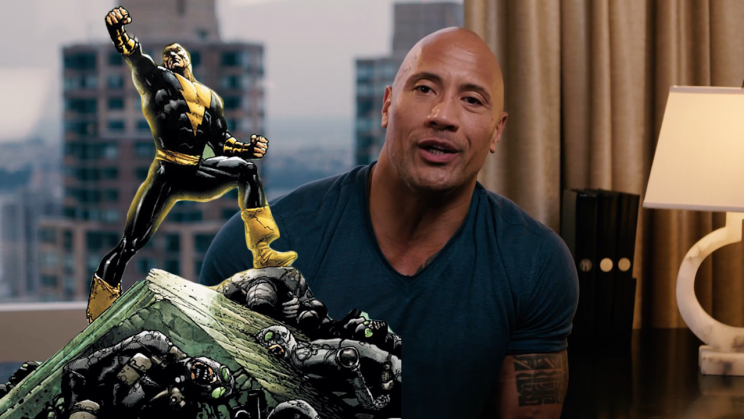 Dwayne Johnson Talks About His DC Comic Book Character [Video]