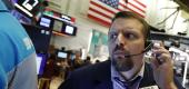 A worried Wall Street trader. (AP)