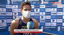 Triathlon - Relais mixte : Coninx : «C'était très dur»