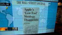 Headlines: Apple shares slide after iPhone announcement