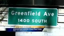 Greenfield Ave. construction begins