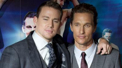 Tatum and McConaughey compare thongs