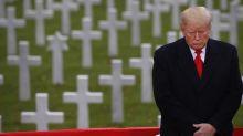 President Trump visits France for World War I Centennial