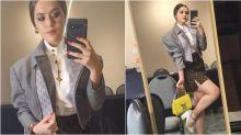 Maisa usa look grifado de quase R$ 50 mil em evento