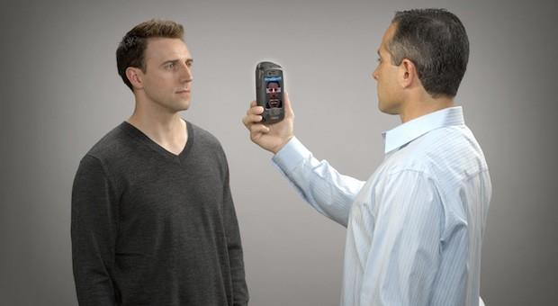 AOptix Stratus lets iPhone users check ID through eyes, faces, fingers and voices