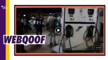 Petrol Pump Ransacked Over Rising Fuel Prices? No, Old Clip Used