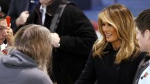 Melania Trump has a new blonde look and Twitter has thoughts: 'When you're growing your husband a new toupee'