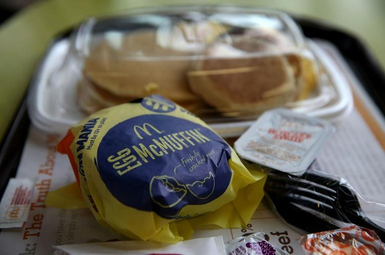 McDonald's has said that breakfast has been its weakest meal in the wake of the pandemic (AFP Photo/JUSTIN SULLIVAN)