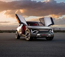 New York Auto Show: Kia debuts 'hot' and 'spicy' fully-electric concept