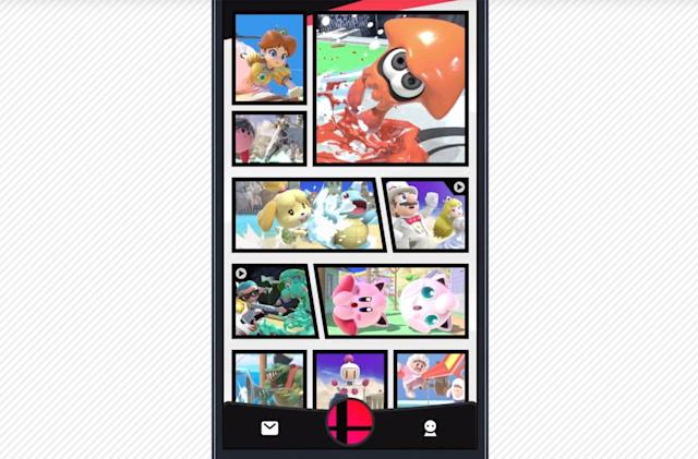 'Super Smash Bros. Ultimate' will offer its own social video hub