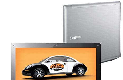 Samsung's 14.1-inch QX410 laptop now on sale at Best Buy