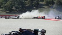 Tuscan Grand Prix red flagged after four-car pile-up at Mugello