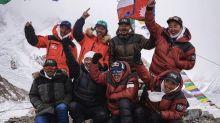 登山奇蹟 登山隊首次成功於冬季登上全球第二高峰