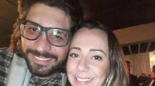 Ex-BBB Ilmar comemora primeiro Dia dos Namorados ao lado de jornalista