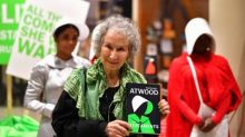 'She's a prophet': handmaids gather for Margaret Atwood's midnight launch of The Testaments