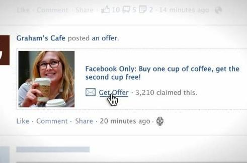 Facebook Offers starts rolling out, spamming your news feed with coupons (video)
