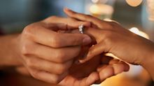 The bizarre reason men traditionally get down on one knee to propose