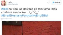 'Errar é humano, persistir é Biel': cantor bloqueia Twitter após posts polêmicos e vira meme