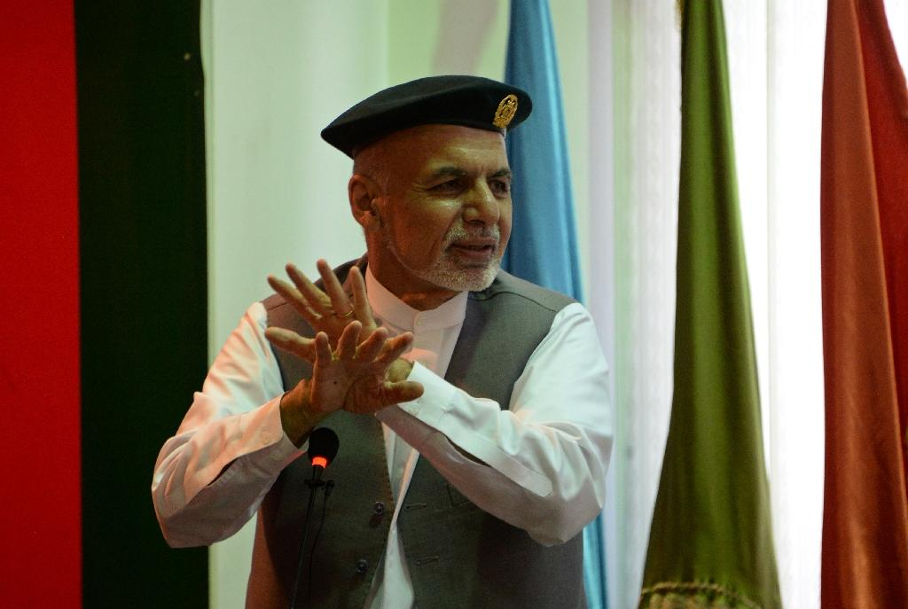 Afghanistan's chief executive Abdullah Abdullah accused President Ashraf Ghani (pictured) of monopolising power and not consulting him over key government appointments (AFP Photo/Noorullah Shirzada)