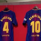 Barcelona to forego shirt names in tribute to terror attack victims