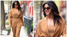 Priyanka Chopra Proves Brown is the Shade of Season in Stunning Monochrome Outfit