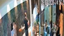 """Coronavirus: se hizo pasar por médico para """"rescatar"""" a su mujer en un hotel donde cumplía el aislamiento"""