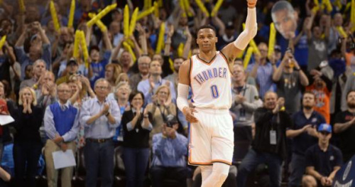 Basket - NBA - NBA : Russell Westbrook prolonge à Oklahoma City