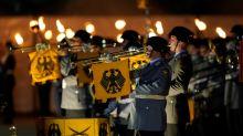 EU's von der Leyen bids Germany goodbye with Scorpions hit