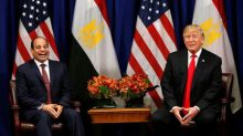 U.S. will consider resuming halted military aid to Egypt: Trump
