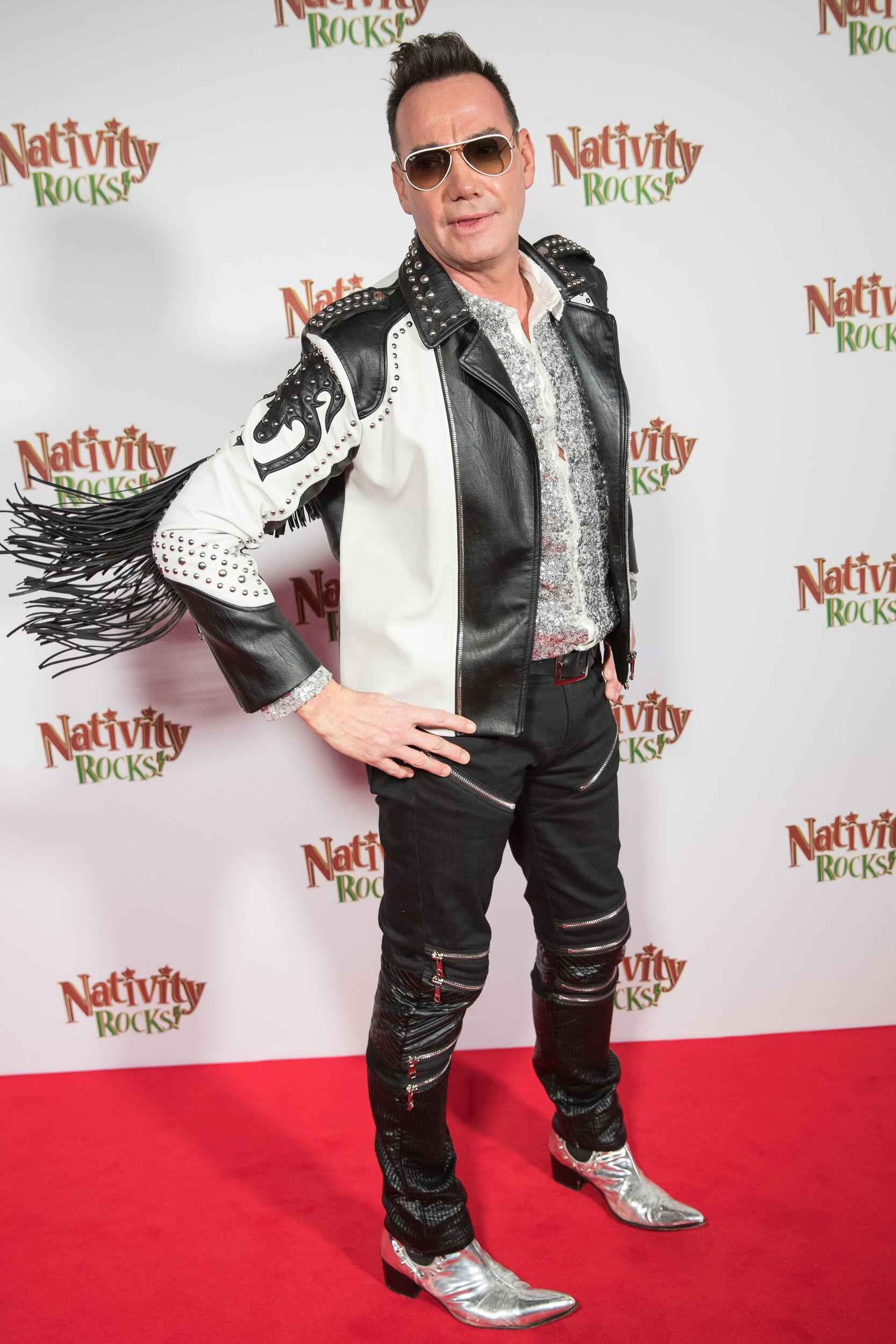 Craig Revel Horwood arrives at the premiere of Nativity Rocks! at the Odeon Skydome in Coventry.