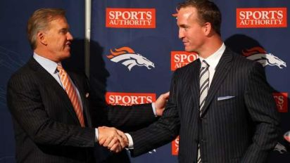 NFL: Free Agency wie James Bond: Als sich Peyton Manning für Denver entschied