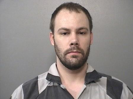 FILE PHOTO: Booking photo of Brendt Christensen, 28, arrested in connection with the disappearance of Yingying Zhang, in Champaign, Illinois