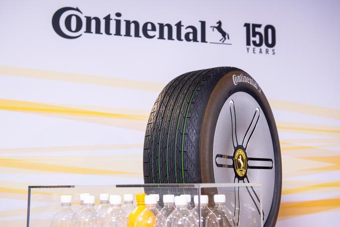 Continental Conti GreenConcept tire with renewable tread