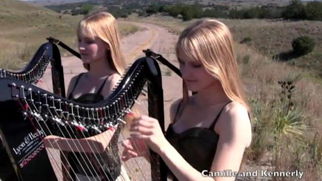 Harp-Playing Twins Cover Guns N' Roses